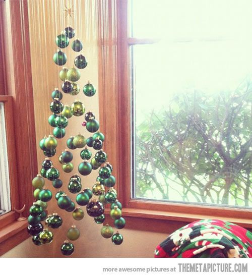 Suspended Christmas Tree…