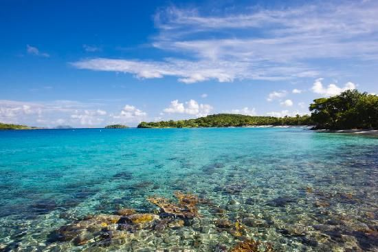 12 beaches with crystal clear water
