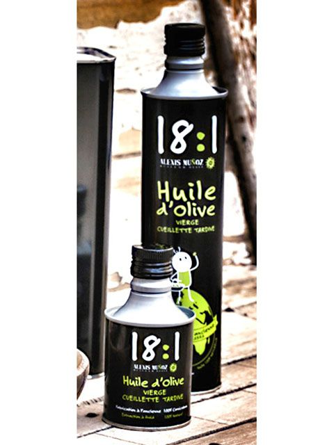 Huile d'olive noire fruitée 25 cl - Meilleur du Chef