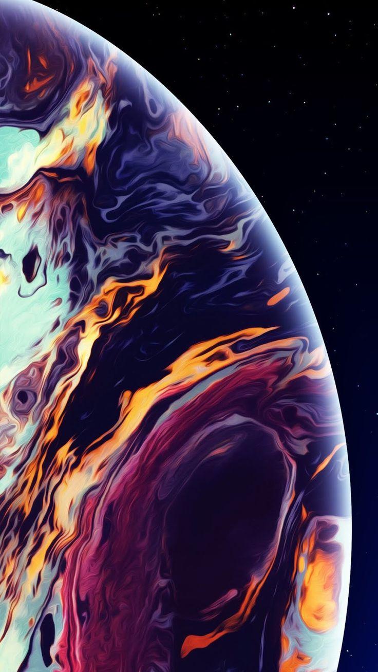 Hình nền bong bóng đầy màu sắc cho iPhone XS MAX hinhnen
