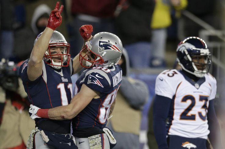NFL.com Photos - Broncos vs. Patriots Football - Julian Edelman