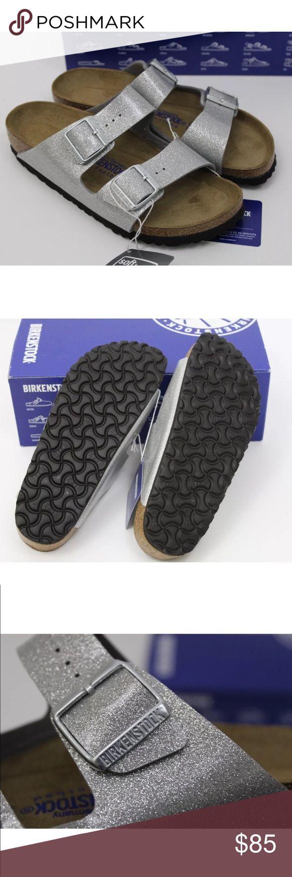 Birkenstock 37 Magic Galaxy Silver Glitter Arizona Size 37. Soft footbed. Narrow width. New in box Birkenstock Shoes Sandals
