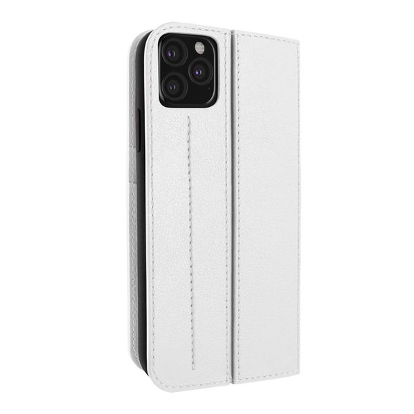 Piel Frama 836 White Framaslimcards Leather Case For Apple Iphone