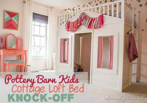Pottery Barn Cottage Loft Bed Knock Off Pottery Little