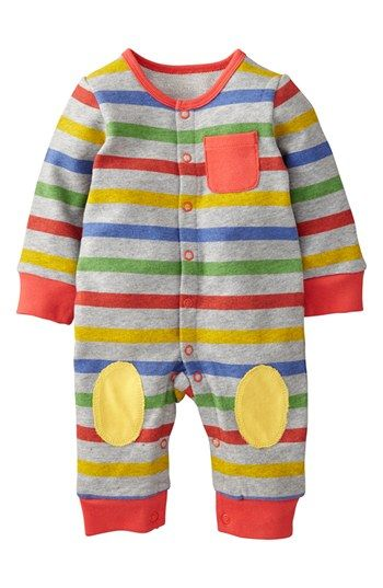Mini Boden 'Cozy' Romper (Baby Boys) available at #Nordstrom