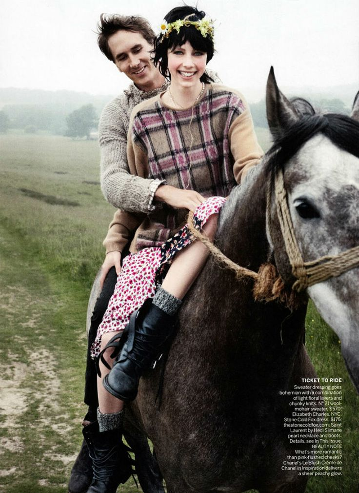www.pegasebuzz.com | The horse fashion : Edie Campbell by Mario Testino for Vogue US, september 2013