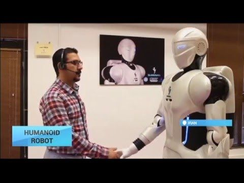 Iranian scientists unveil advanced 'Surena III' humanoid robot - YouTube
