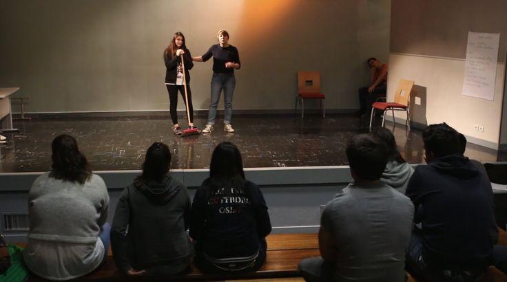 Atelier de réflexion et théâtre forum sur le sexisme à la Cazotte.