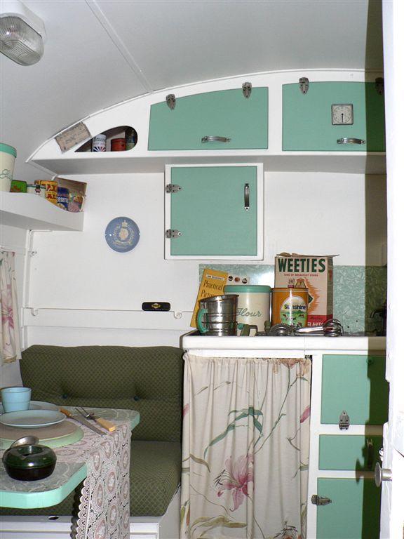Australia Fremantle Motor Museum Interior of Old Caravan by Dave Curtis. & 60 best Caravan ideas images on Pinterest   Caravan ideas Caravan ... pezcame.com