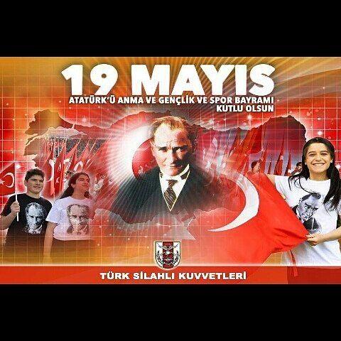 """791 Beğenme, 2 Yorum - Instagram'da Orgeneral Hulusi Akar Paşa (@hulusiakar38): """"Genelkurmay ' dan 19 Mayıs Atatürk'ü Anma ve  Gençlik ve Spor Bayramı Afişleri"""""""