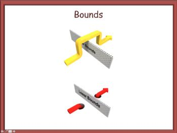 Explanation of how to find Lower Bounds Explanation of how to find Upper Bounds Examples when the data is discrete Examples when the data is continuous Example questions on finding Maximum and Minimum values