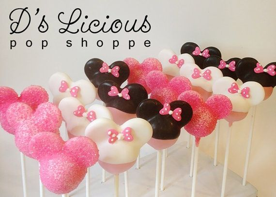 Minnie Mouse Cake Pops ~D's Licious Pop Shoppe