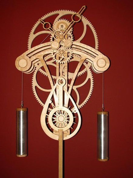 Solaris Wooden Gear Clock - by GodofBiscuits @ LumberJocks.com ~ woodworking community