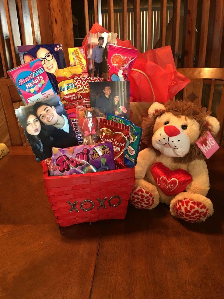 man valentine's day basket.