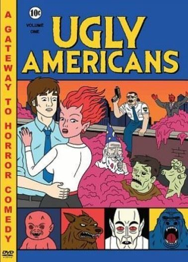 Ugly Americans: Volume 1 - (2010) Comedy Central Animated Series DVD NEW