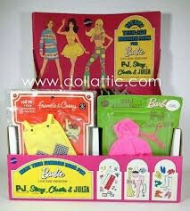1970 Barbie, P.J., Stacey, Christie & Julia - Store Display  (New Teen Fashions) #