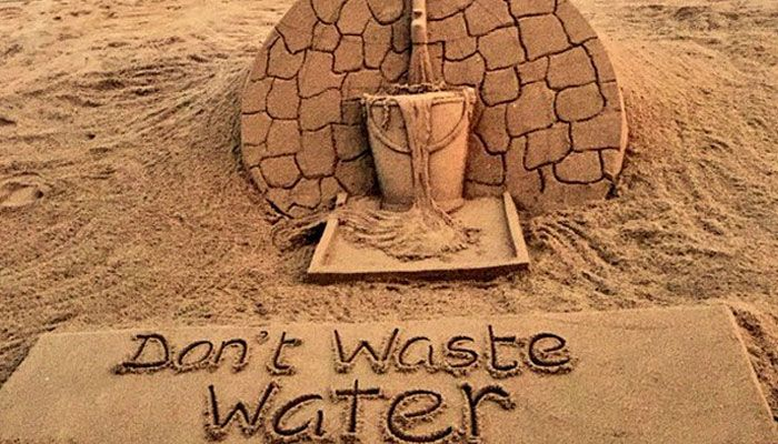 Save water for future  -  Support water conservation and management with www.clicbrics.com