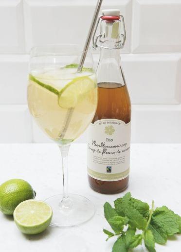 Cocktail 'Hugo' - Dille & Kamille | 't is lente!