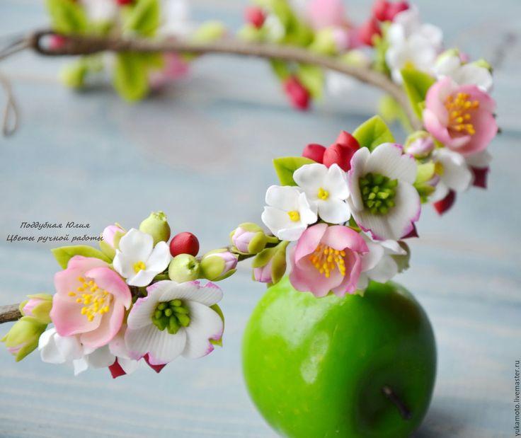 Купить Краски лета. Веночек - комбинированный, подарок, ободок с цветами, ободок для фотосессии, яркий обруч