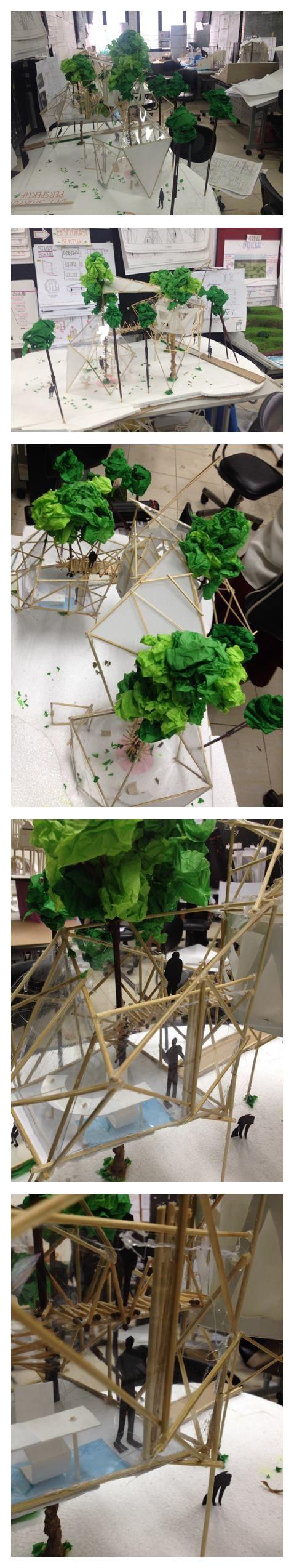 Design Class 1 Project 2 : Treemangle Spaces, Space for Artist- Rachel Amanda.