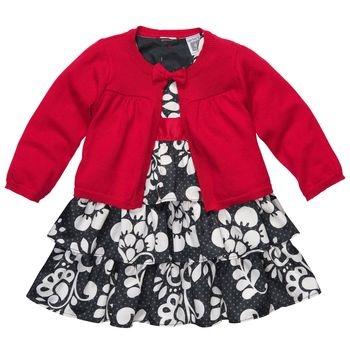 Baby Sisters Christmas dress :)