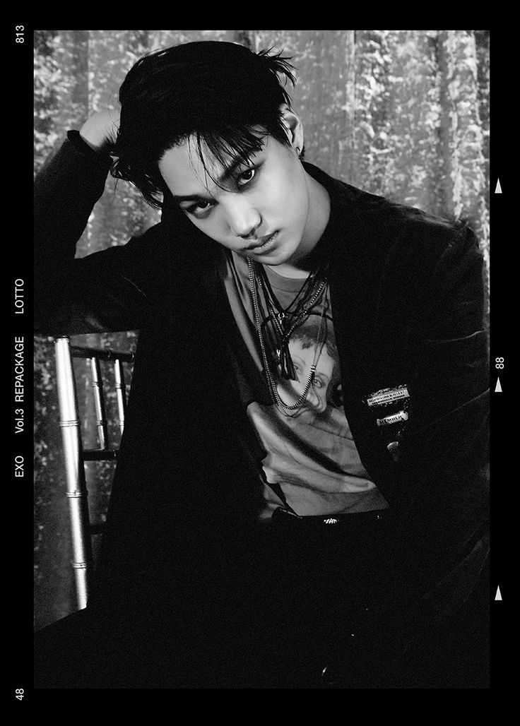 Kai 'Lotto' comeback teaser photo  Credit: Official EXO website.