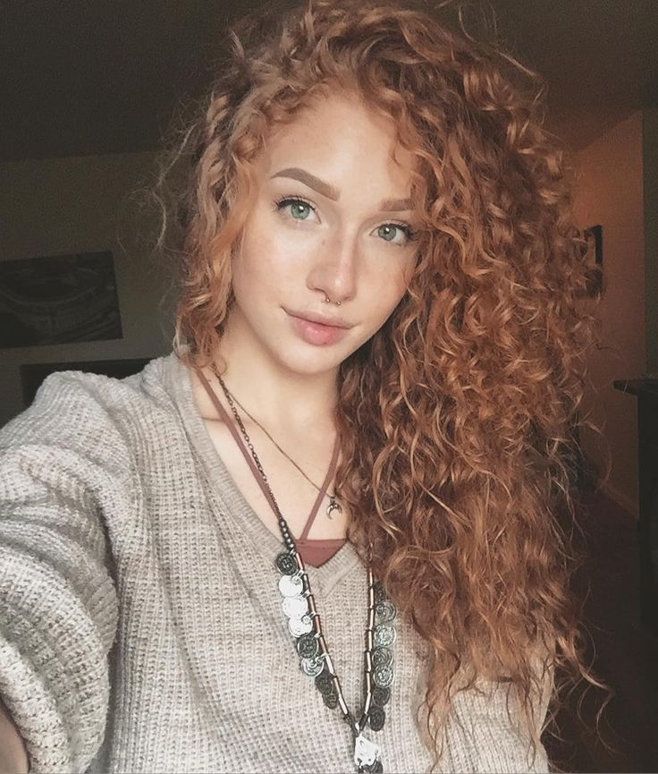 Ver esta foto do Instagram de @emblu • 20.3 mil curtidas redhead curly hair ginger curls cachos ruivos