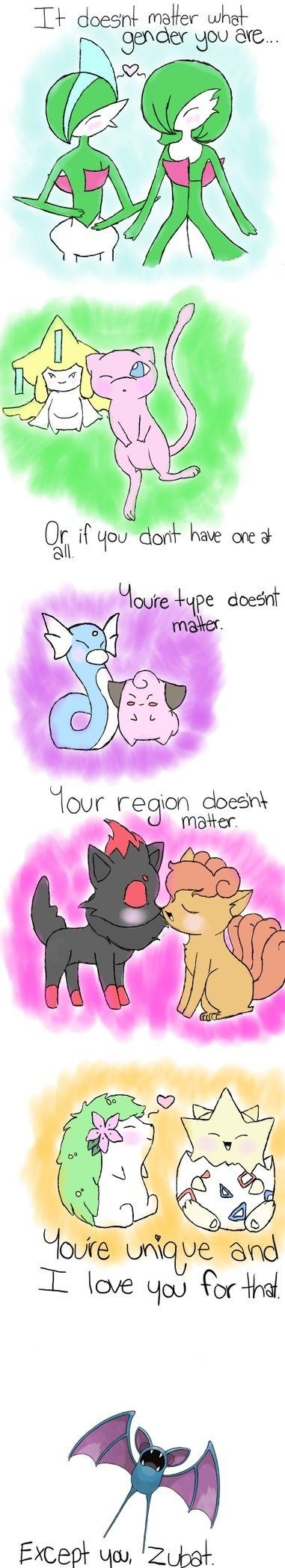#Pokemon love...except you... via Reddit user Aedora125