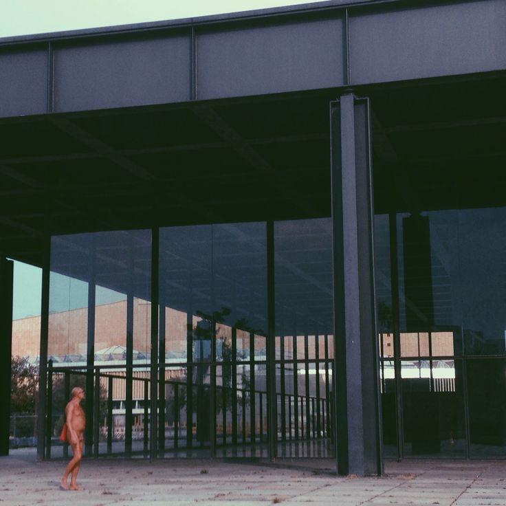 Neue Nationalgalerie / Berlin (1962-1968) / proj. Ludwig Mies van del Rohe