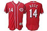 Pete Rose Reds Sewn Jersey
