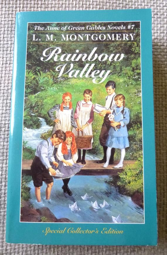 Rainbow Valley By L M Montgomery Anne Of Green Gables Book