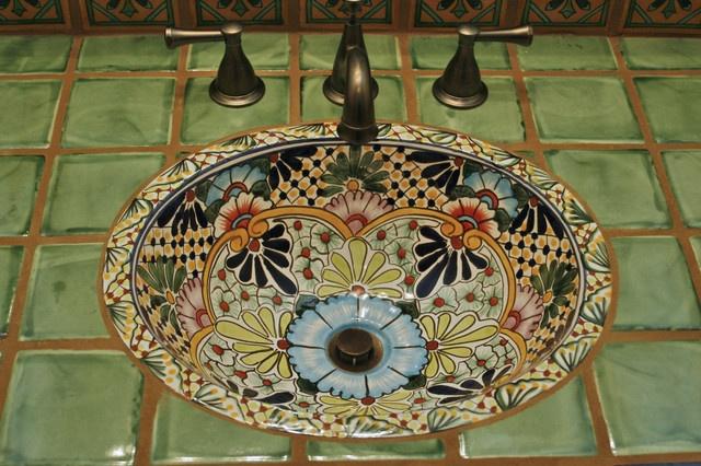 Clay Imports Artesanal Mediterranean Bathroom Bath