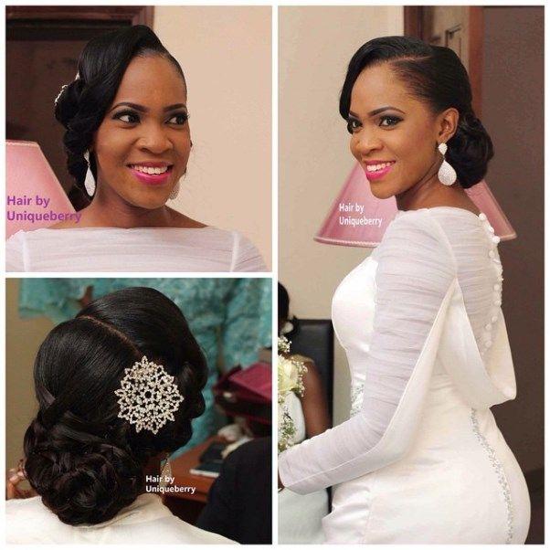 Nice Hairstyle For Wedding: Nigerian Bridal Hair Inspiration LoveweddingsNG