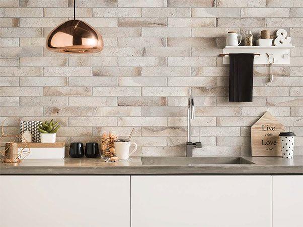 White Kitchen Splashback Panels