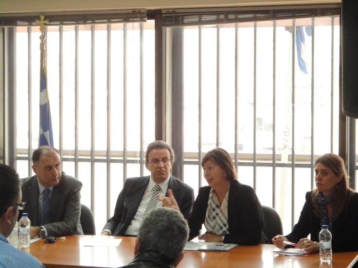 24/01/2012 - Ομιλία Συνηγόρου του Καταναλωτή στα εγκαίνια του νέου Ευρωπαϊκού Κέντρου Καταναλωτή της Ελλάδα