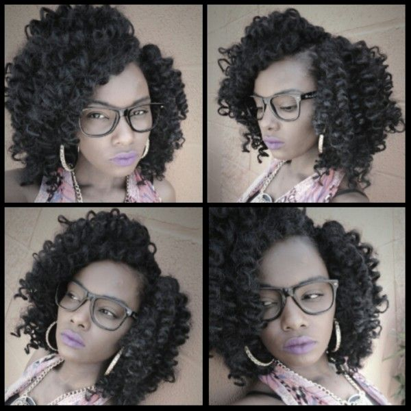 Crochet Braids No Loop : Invisible Part Crochet Braids With Curly Hair Tutorial Back To School ...