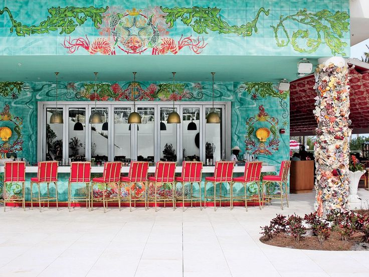 Faena Hotel Miami Beach, Florida -All that glitters is gold—and more—at this bold, artsy hotel. Read More