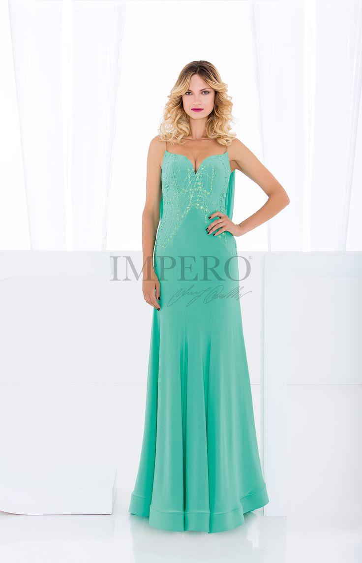FU 5071  #abiti #dress #wedding #matrimonio #cerimonia #party #event #damigelle #verde #green