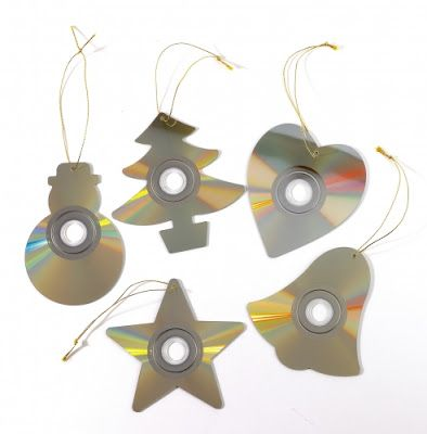 How to Recycle: Recycled Christmas Ornaments part3