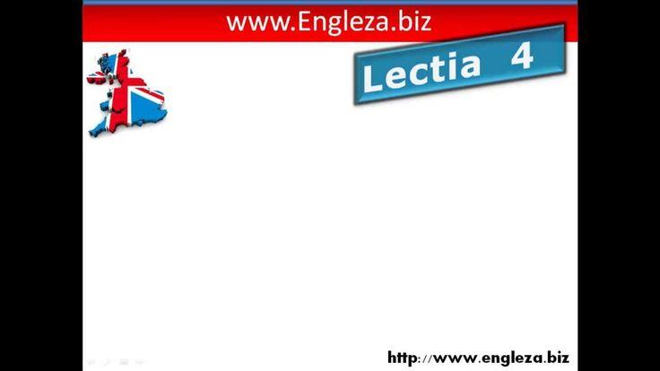 Curs de limba engleza audio video lectia 4