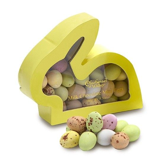 51 best easter eggs images on pinterest easter gift gift bags easter bunny mini eggs by charbonnel et walker an easter bunny shaped gift box filled negle Image collections