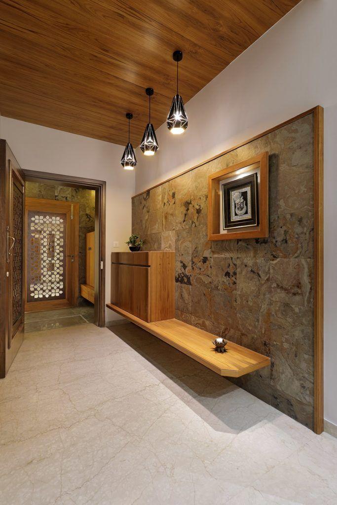 Floral Pattern Inspires Apartment Interiors