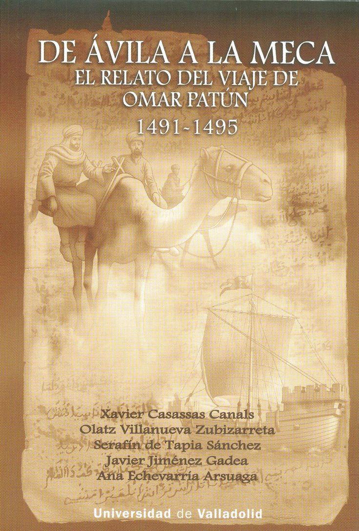 Este libro recoge el primer relato conocido de la peregrinación a La Meca de dos musulmanes castellanos a finales de la Edad Media. Constituye una fascinante narración de un viaje por las tierras del Mediterráneo, desde el occidente cristiano hasta el oriente musulmán, de encuentro entre diferentes culturas y religiones y de descubrimiento de lugares míticos para cristianos y musulmanes.  +info: (pinchando foto se accede a la página de EdUVa) http://almena.uva.es/record=b1758570~S1*spi