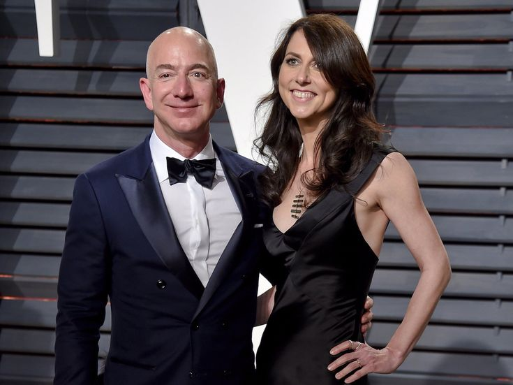 A look inside the marriage of world's richest couple Jeff and MacKenzie Bezos  who met at work were engaged within 3 months and own more land than almost anyone else in America (AMZN)