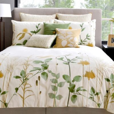Meadow Reversible Duvet Cover and Sham Sets - BedBathandBeyond.com