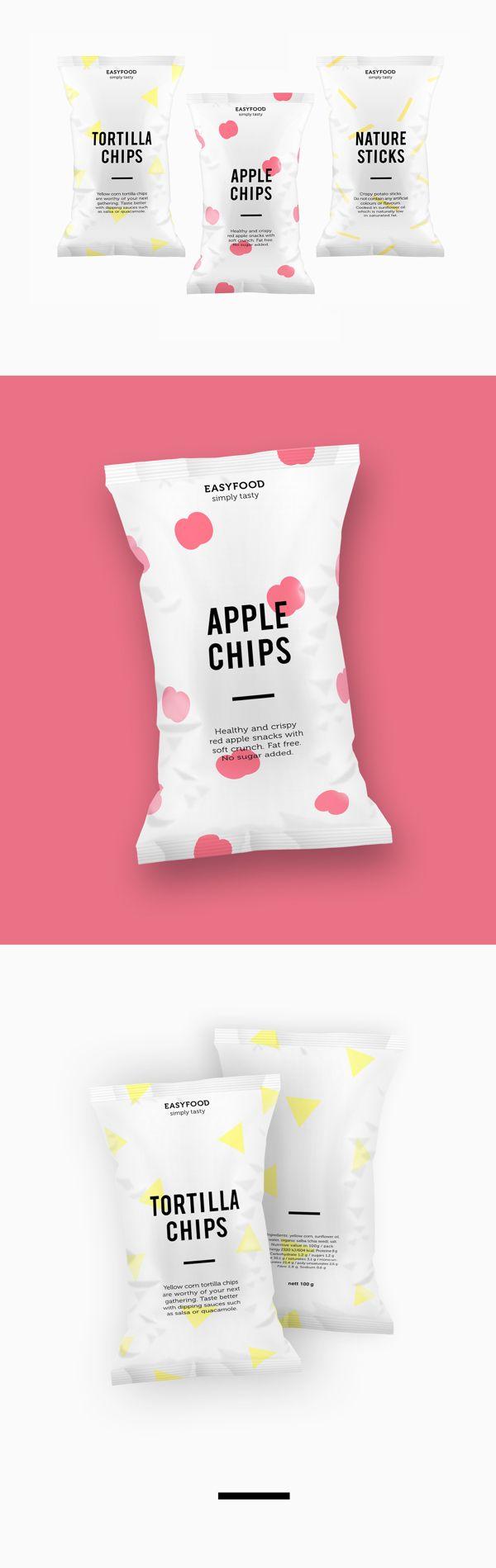 Single serve snack packaging pillow bag design