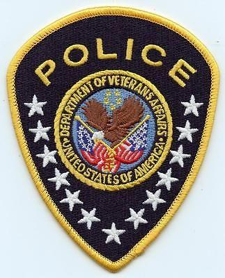 "Veterans Affairs Police Department 4.5"" Patch Law Enforcement Officer LEO"