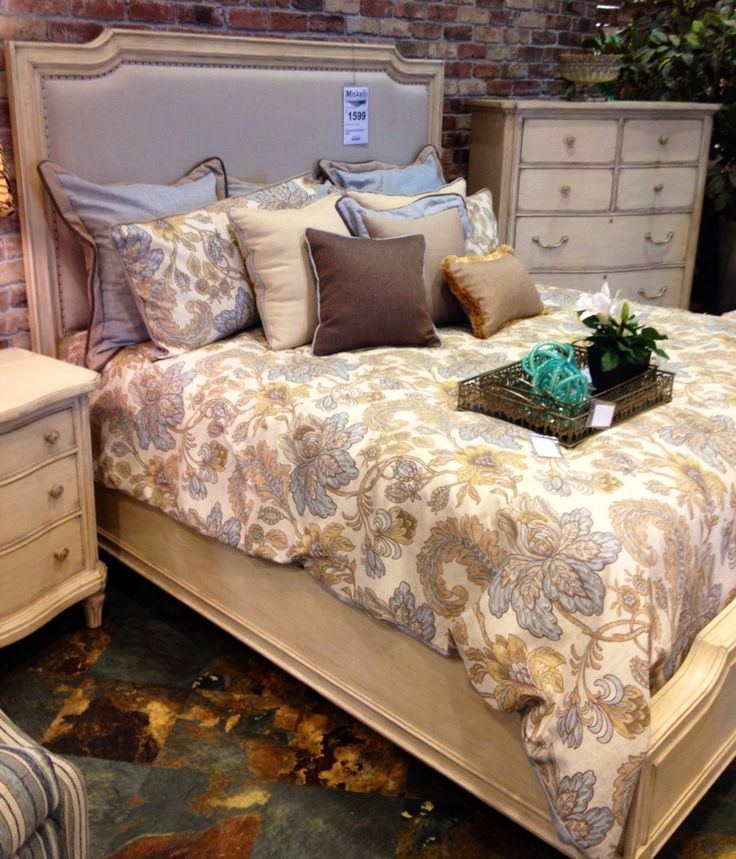 Upholstered Bed At Miskelly Furniture Some Of Our