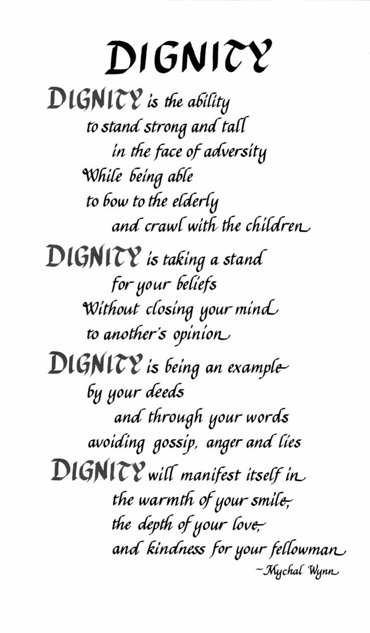Quotes About Dying with Dignity | Posted on April 25, 2010 by bw