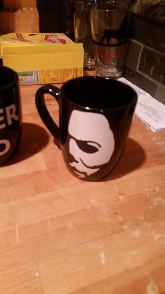 Hey, I found this really awesome Etsy for all the micheal myers horror fans listing at https://www.etsy.com/listing/221975849/michael-myers-coffe-mug